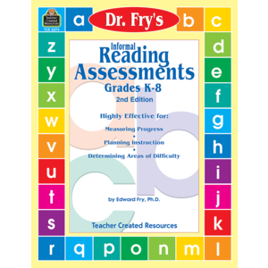 Informal Reading Assessments by Dr. Fry Image