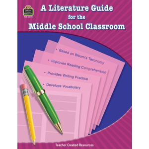 TCR3078 Literature Guide for the Middle School Classroom Image
