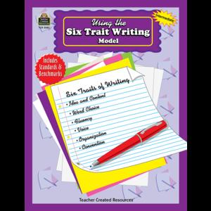 Using the Six Trait Writing Model Image