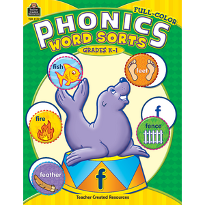 TCR3122 Full-Color Phonics Word Sorts Image