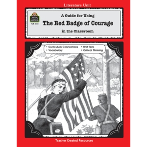 TCR3151 A Guide for Using The Red Badge of Courage in the Classroom Image
