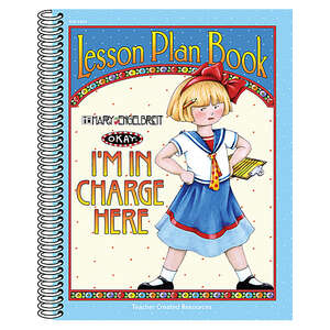 TCR3204 I'm in Charge Here Lesson Plan Book from Mary Engelbreit Image