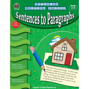 TCR3248 Building Writing Skills: Sentences to Paragraphs Image