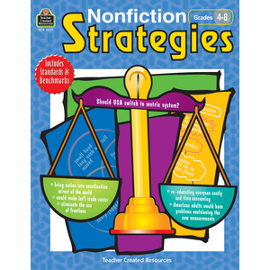 TCR3271 Nonfiction Strategies Grades 4-8 Image