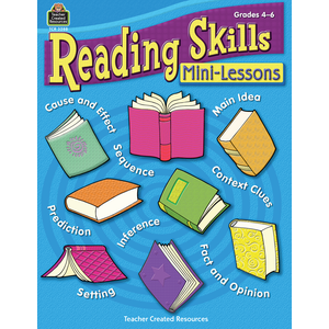 TCR3288 Reading Skills Mini-Lessons Image