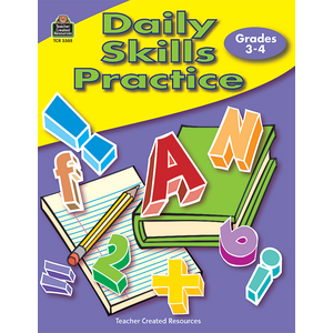 TCR3305 Daily Skills Practice Grades 3-4 Image