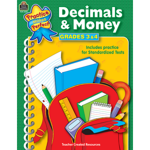 TCR3326 Decimals & Money Grades 3-4 Image
