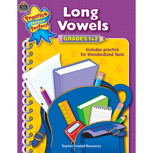 TCR3336 Long Vowels Grades 1-2 Image