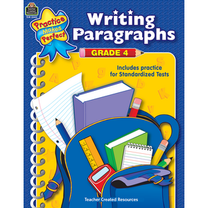 TCR3343 Writing Paragraphs Grade 4 Image