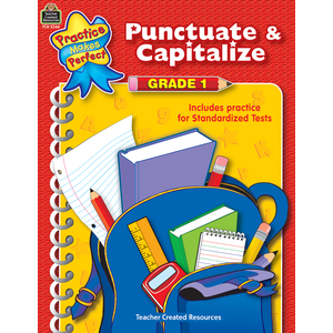TCR3344 Punctuate & Capitalize Grade 1 Image