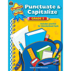TCR3345 Punctuate & Capitalize Grade 2 Image