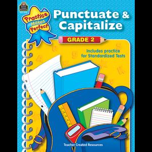 Punctuate & Capitalize Grade 2 Image