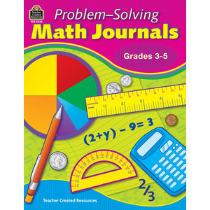 TCR3356 Problem-Solving Math Journals for Grades 3-5 Image