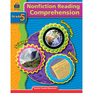 TCR3385 Nonfiction Reading Comprehension Grade 5 Image