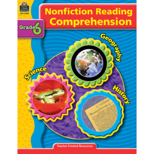 TCR3386 Nonfiction Reading Comprehension Grade 6 Image