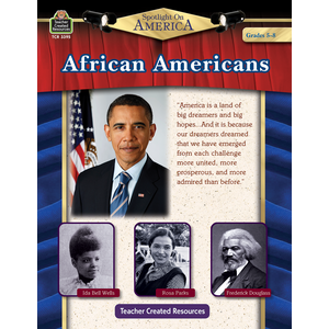 TCR3395 Spotlight On America: African Americans Grade 5-8 Image