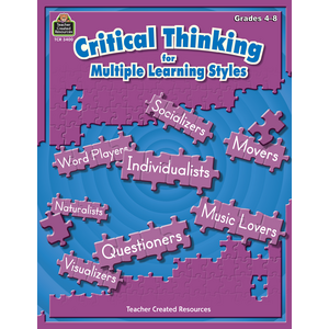 TCR3400 Critical Thinking for Multiple Learning Styles Image