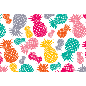TCR3483 Tropical Punch Pineapples Postcards Image