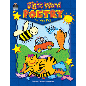 TCR3507 Sight Word Poetry Image