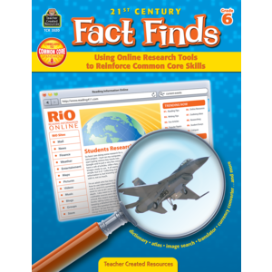 21st Century Fact Finds: Using Online Research Tools to Reinforce Common Core Skills- Grade 6