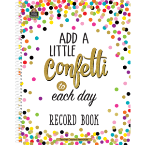 TCR3570 Confetti Record Book Image