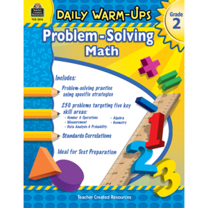 TCR3576 Daily Warm-Ups: Problem Solving Math Grade 2 Image