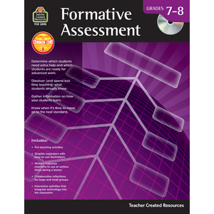 TCR3595 Formative Assessment Grade 7-8 Image