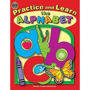 TCR3616 Practice and Learn the Alphabet Image