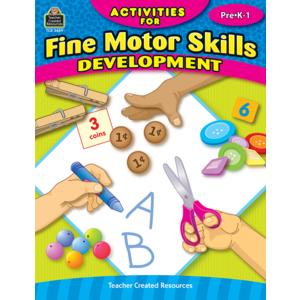 activities for fine motor skills development grade prek 1 tcr3689 teacher created resources. Black Bedroom Furniture Sets. Home Design Ideas