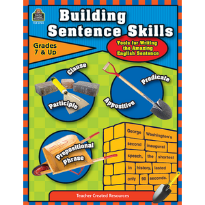 TCR3704 Building Sentence Skills Image