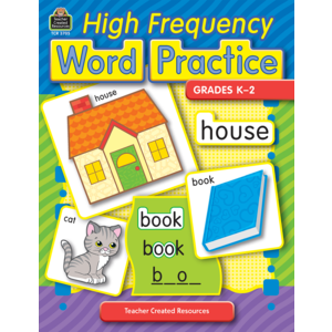 TCR3705 High Frequency Word Practice Image