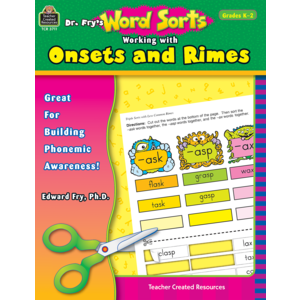 TCR3711 Dr. Fry's Word Sorts: Working with Onsets and Rimes Image