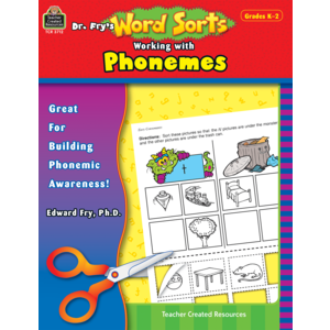 TCR3712 Dr. Fry's Word Sorts: Working with Phonemes Image