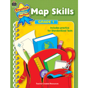 TCR3726 Map Skills Grade 1 Image