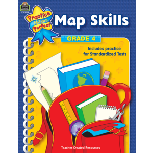 TCR3729 Map Skills Grade 4 Image