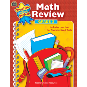 TCR3742 Math Review Grade 2 Image
