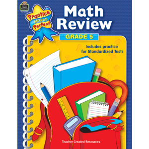 TCR3745 Math Review Grade 5 Image