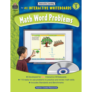 TCR3854 Interactive Learning: Math Word Problems Grade 3 Image