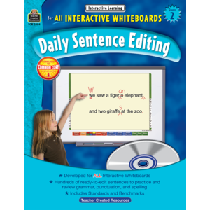 Interactive Learning: Daily Sentence Editing Grade 2 Image
