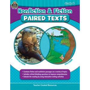 TCR3896 Nonfiction and Fiction Paired Texts Grade 6 Image