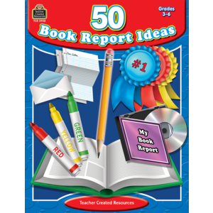 TCR3948 50 Book Report Ideas Image