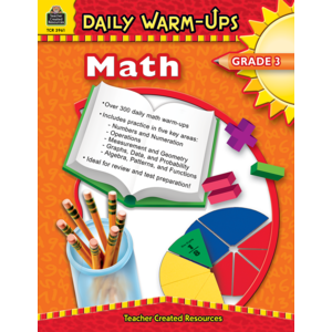 TCR3961 Daily Warm-Ups: Math, Grade 3 Image