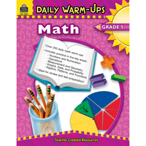 TCR3963 Daily Warm-Ups: Math, Grade 5 Image