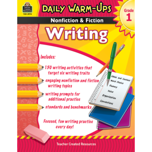 TCR3974 Daily Warm-Ups: Nonfiction & Fiction Writing Grade 1 Image