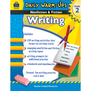 TCR3975 Daily Warm-Ups: Nonfiction & Fiction Writing Grade 2 Image