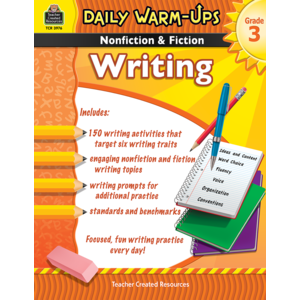 TCR3976 Daily Warm-Ups: Nonfiction & Fiction Writing Grade 3 Image