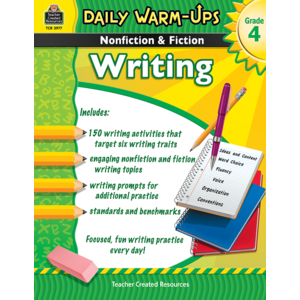 TCR3977 Daily Warm-Ups: Nonfiction & Fiction Writing Grade 4 Image