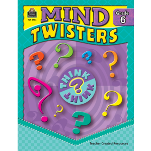 TCR3986 Mind Twisters Grade 6 Image