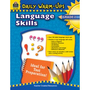 TCR3992 Daily Warm-Ups: Language Skills Grade 2 Image