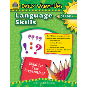 TCR3994 Daily Warm-Ups: Language Skills Grade 4 Image